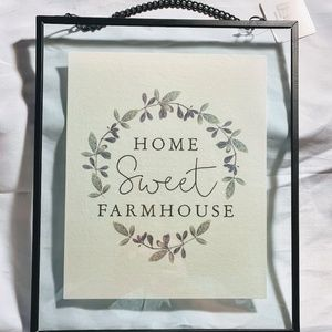 Farmhouse Decor- NEW- Home Sweet Farmhouse